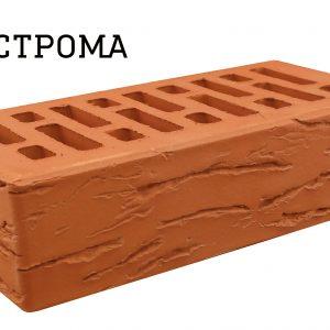 Кирпич Строма Красный Мадейра 1НФ